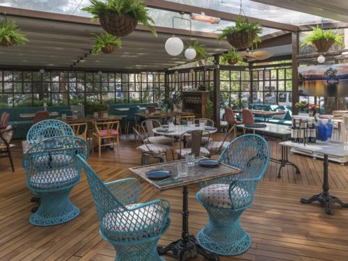 Restaurante Terraza La Casa de Cristal